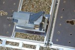 Remarquez la largeur du plateau afin de faciliter le positionnement de la machine !