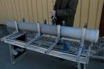 Le serrage des tubes étant progressif, le blocage peut être absolu ou permettre une rotation contrôlée.